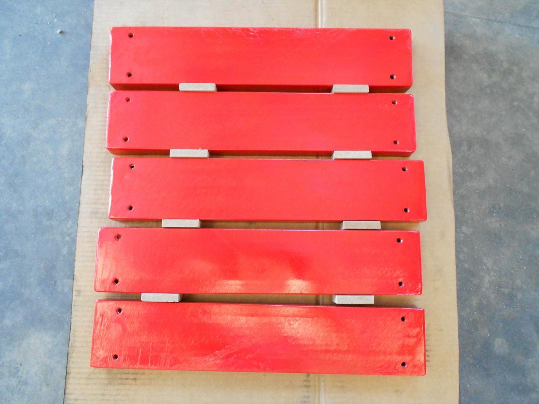separatore magnetico a piastra